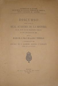 Contribucion Al Estudio de La Reina de Portugal, Hermana de Carlos V Donã Catalina de Austria «€60.00»