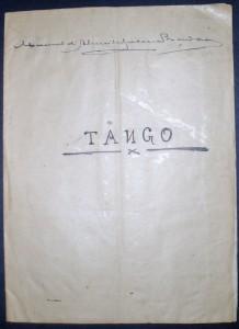 Tango «€10.00»