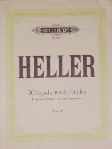 Stephen Heller - 25 Meodische Etüden «€10.00»