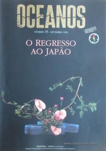 Oceanos«O Regresso do Japão» nº15 - Comissaõ Nacional Para as Comemorações dos Descobrimentos Portugueses - Lisboa - Setembro - 1993 - «€25.00»