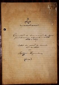 Rio Guadiana «Comissão de Demarcação das Aguas Jurisdicionais Adjacentes a Costa 1886-1887» Actas das Sessões da Comissão Mista de Portugal e Espanha