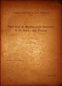 Plano Geral de Aproveitamento Hidráulicos do Rio Douro e seus Afluentes (Tâmega)