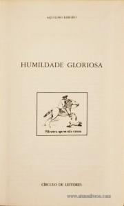 Humildade Gloriosa «€5.00»