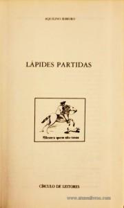 Lápides Partidas «€5.00»
