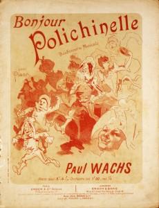 Paul Wachs - Bonjour Polichinelle «€5.00»