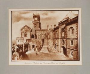 Sintra -Palácio da Pena - Pátio da Capela «30cm x 25cm» «€10.00»