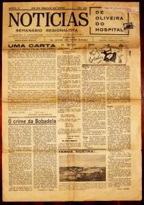 Jornal «Noticias de Oliveira do Hospital» «€5.00»
