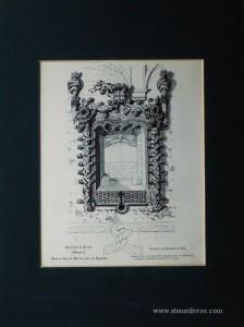 Convento de Crito(Tomar) Janela lado do Sul do Capitulo - 1934- €20.00»