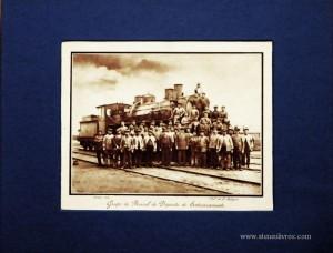 Grupo de Pessoal do Deposito do Entroncamento - Lisboa - 1931 - €15.00»