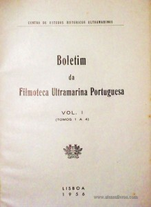 Boletim da Filmoteca Ultramarina Portuguesa