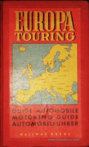 Europa Touring - Guide Automobile Motorig Guide Automobilfuhrer