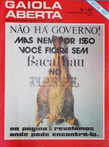 Gaiola Aberta - n.º 59 - «€5.00»