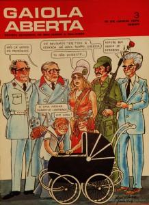 Gaiola Aberta - n.º 3 - «€5.00»