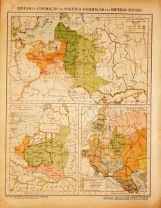Divisão e Formação da Polónia Formação do Império Russo «€5.00»