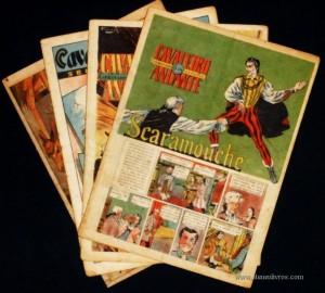 Cavaleiro Andante nº 103, 104, 109, 110 - Cada - «€5.00»