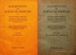 Elementos de Sciências Musicais