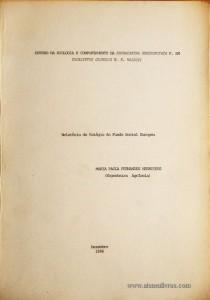 Relatório de Estágio do Fundo Social Europeu - Estudo da Biologia e Comportamento da Phoracantha Semipunctata F. Em Eucalyptus Globulus e e. Maideni