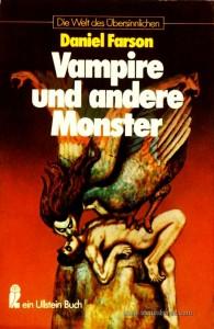 Daniel Farson – Vampire Und Andere Monster - Die Welt Des Übersinnlichen - «€5.00»