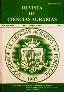 Revista da Sociedade de Ciências Agrárias - Volume XXXV - 2012 – N.º 1 / Janeiro – Junho - Publicação de Ciências Agrárias de Portugal - Lisboa - 2012. Desc. 319 pág. / 24 cm x 17 cm / Br. - «€40.00»