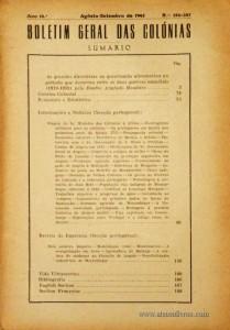 Boletim Geral das Colónias – Ano 18.ª – Agosto/Setembro de 1942 – N.º206-207 – Agencia Geral das Colónias – Lisboa – 1942. Desc. 207 pág. / 22,5 cm x 16 cm / Br «€12,50»
