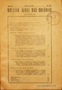 Boletim Geral das Colónias – Ano 11.ª – Junho de 1935 – N.º121 – Agencia Geral das Colónias – Lisboa – 1935. Desc. 183 pág. / 22,5 cm x 16 cm / Br «€12,50»