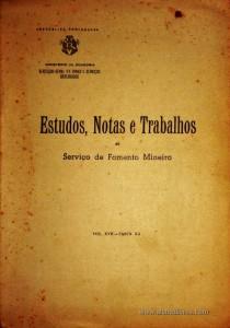 Estudos, Notas e Trabalho do Serviço de Fomento Mineiro