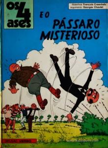 Os 4 Ases e o Pássaro Misteriosos «€5.00»