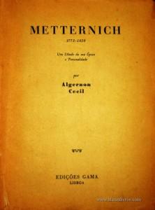 Metternich «1773-1859»