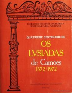 Quatrieme Centenaire de Os Lvsiadas de Camões 1572/1972