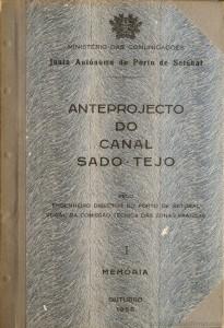 Anteprojecto do Canal Sado - Tejo