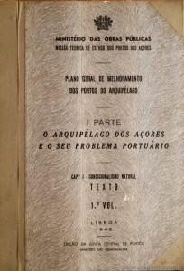 Plano Geral de Melhoramento Portos do Arquipélago dos Açores