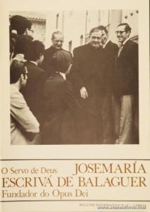 Boletim n.º 8 - Fundação do Opus Dei - 1989 - «€5.00»