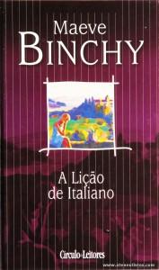 Maeve Binchy - A Lição de Italiano «€5.00»