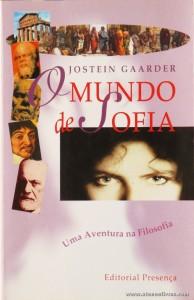 Jostein Gaarder - O Mundo de Sofia «€10.00»