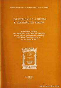 """""""Os Lusíadas"""" e a Defesa E Expansão da Europa"""
