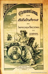 Camoniana da Biblioteca da Imprensa Nacional de Lisboa