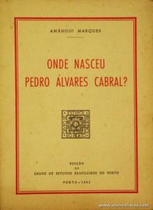 Onde Nasceu Pedro Álvares Cabral?