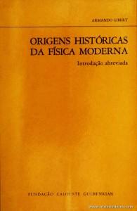 Origens Históricas da Física Moderna