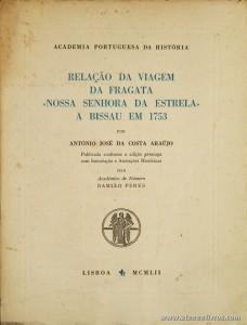Relação da Viagem da Fragata «Nossa Senhora da Estrela» a Bissau em 1753