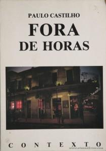 Paulo Castilho - Fora de Horas «€5.00»