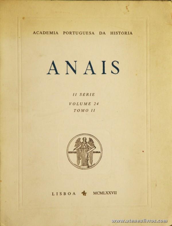 Anais II Série Volume 24 Tomo II