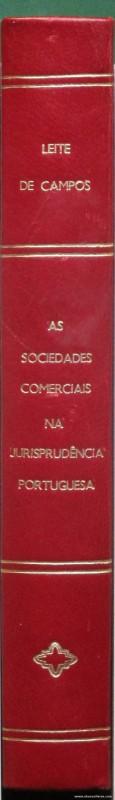 As Sociedades Comerciais na Jurisprudência Portuguesa