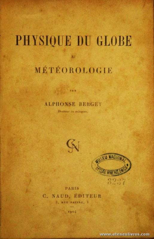 Physique Du Globe e Météologie