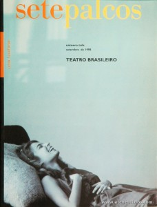 Sete Palcos - Revistas - N.º3 de Setembro - 1998 - (Teatro Brasileiro) - «€10.00»