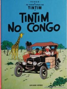 Tintim no Congo «€5.00»