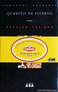 Osvaldo Soriano - Quartéis de Inverno «€5.00»