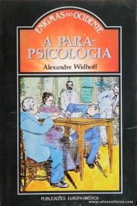 Alexandre Widhoff - A Para-Psicologia «€5.00»