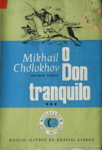 Mikhail Cholokhov - O Dom Tranquilo «€5.00»