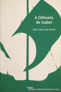 João César das Neves - A Odisseia de Isabel - «€5.00»