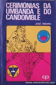 José Ribeiro - Cerimonias da Umbanda e do Candoble - «€5.00»